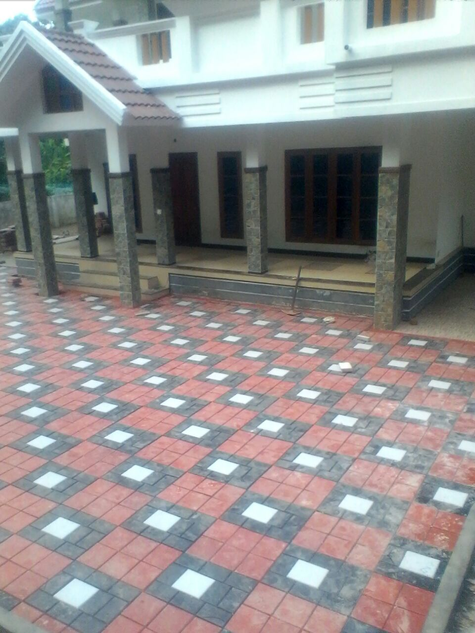 High Tech Paving Tiles Porch Cement Interlock Manufacturing Marketing In Kottayam Mundakayam Paingana Kerala